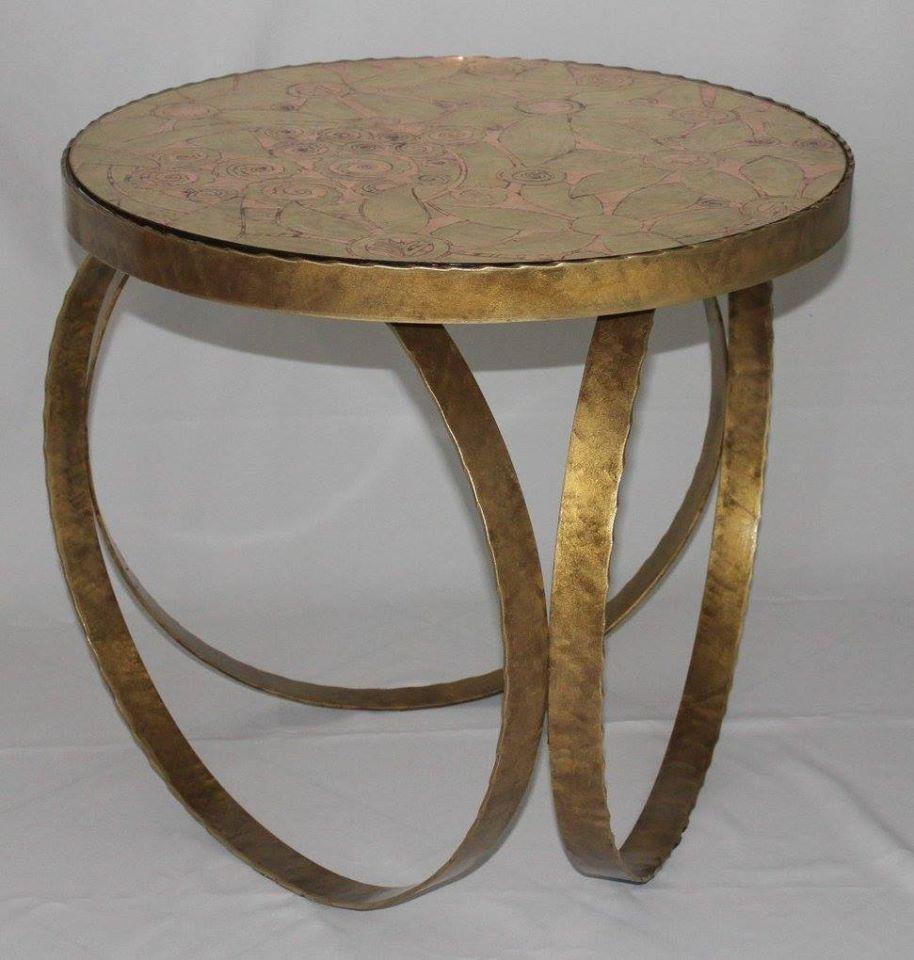 стол кованый 4