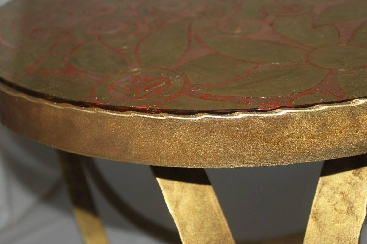 стол кованый 5
